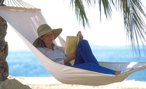 insomnia cure swinging motion of hammocks sends us to