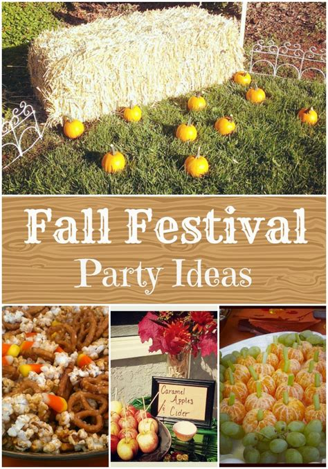 fall festival decorations fall festival birthday