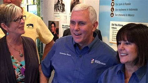 karen pence indiana gov mike pence s wife bio wiki pence returns to indiana for state fair s opening ceremony