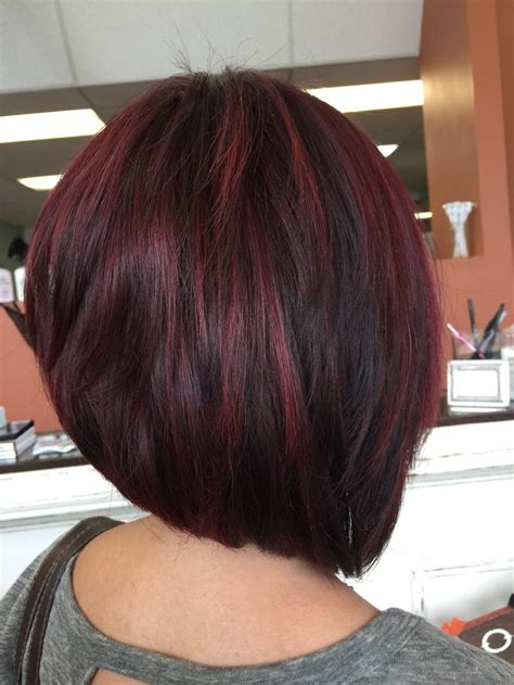 bob haircuts with red highlights 804 best i love bob haircuts images on pinterest