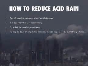 how to downsize acid rain by megan forsythe