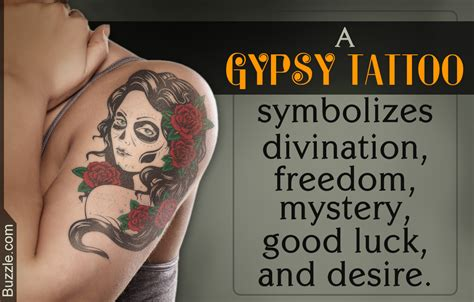 gypsy tattoo meaning for men designs and meanings