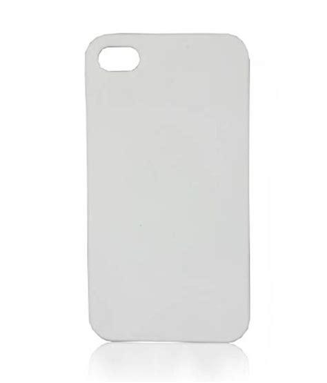 Apple Plain Gear 4gc019f Plain White Apple Iphone 4s Plain Back