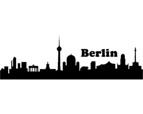 Aufkleber Folie Berlin by Berlin Skyline Aufkleber Berlin Sticker Plot4u