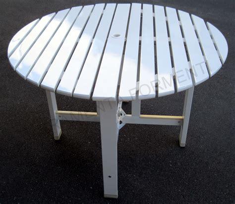 reguitti mobili da giardino tavolo circolare giardino in legno bianco reguitti