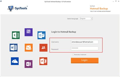 format email hotmail converter tool to export hotmail emails to pst on local system