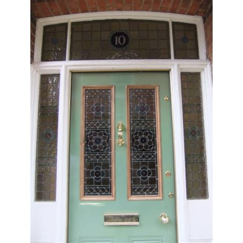 Exterior Glass Front Doors 1930 S Stained Glass Doors Exterior Door Casing