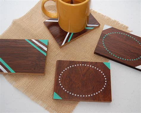 diy coasters diy wood coaster set wild amor