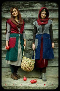 Seisha Tunik manto on iranian zara and models