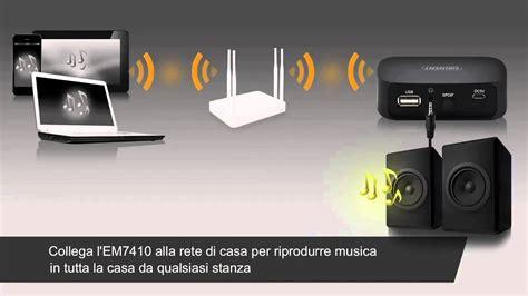 impianto wifi casa em7410 wifi streamer aggiorna il tuo impianto