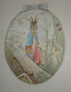Beatrix Potter Wall Mural classic peter rabbit beatrix potter nursery beatrice