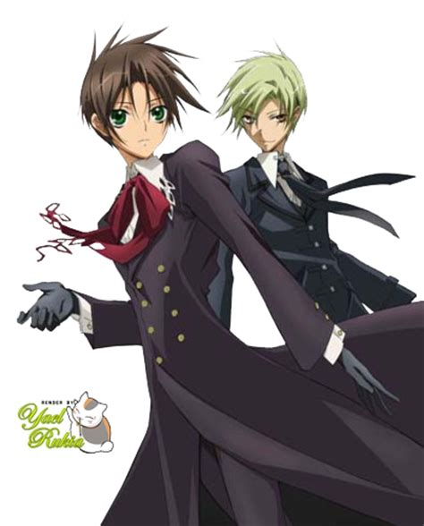 Anime 7 Ghost by Render 7 Ghost Mikage Y Teito By Yaelrukia On Deviantart