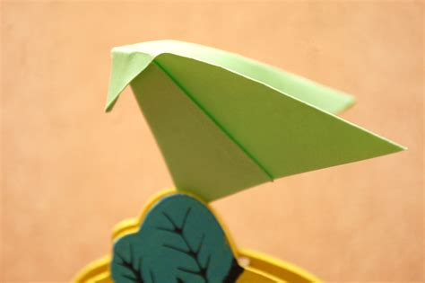 Origami Wiki How - how to make an origami katydid 7 steps with pictures