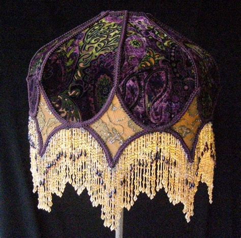 floor l with beaded shade floor ls amazing glass beaded fringe for lshades