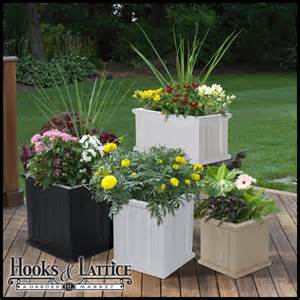 self watering plastic planter boxes patio planter hooks
