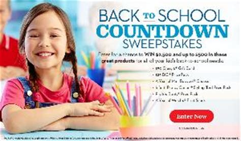 Parents Magazine Sweepstakes - contest parents magazine back to school countdown sweepstakes