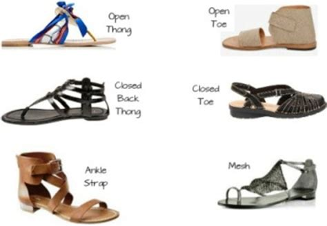 different types of flats shoes flat sandal types and styles