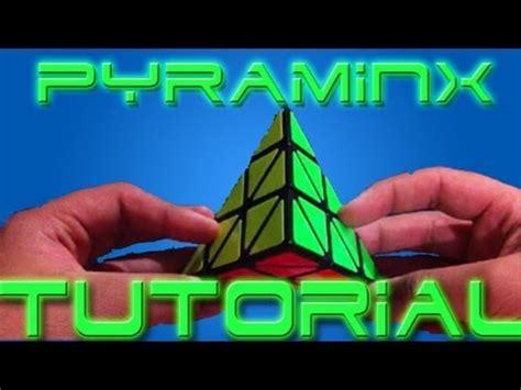 tutorial rubik piramid video how to solve a pyraminx
