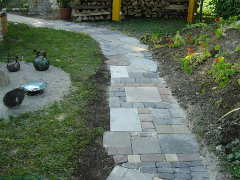 Gehweg Im Garten Anlegen