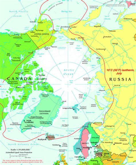 arctic circle map map of northern canada arctic circle