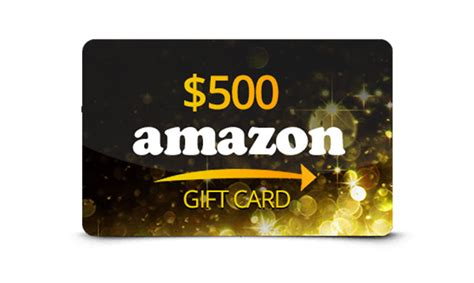 Get An Amazon Gift Card - get a 500 amazon gift card get it free