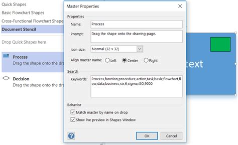custom visio shapes visio 2013 change shape tool loses text contained in