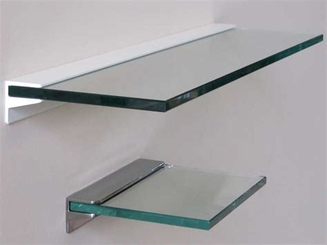 floating glass shelf bracket the best shelf design