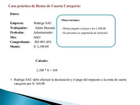 cartilla para declaracion renta tercera categoria 2015 peru cartilla 2015 sunat renta de tercera