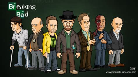 Or Characters Breaking Bad Characters Sale Cartoonist