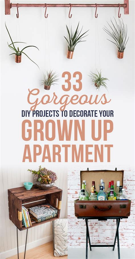 apartment diy 33 gorgeous diy projects to decorate your grown up apartment