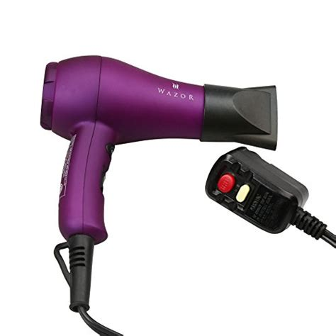 Mini Hair Dryer Malaysia wazor ionic ceramic mini dryer with cool button purple 11street malaysia hair dryers