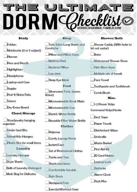 college checklist the ultimate college checklist not just for uc