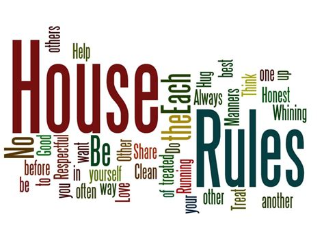 house rules design expert joy just because wordle wednesday house rules