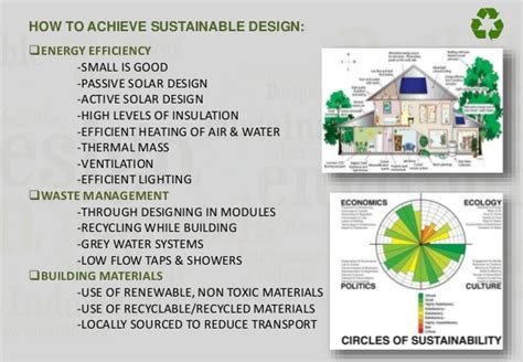 design for cost and environment sustainable architecture