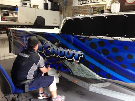 boat wraps capital signs - Boat Wraps Canberra