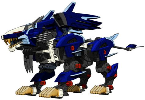 anime galleries dot net zoids liger zero jager cas unit