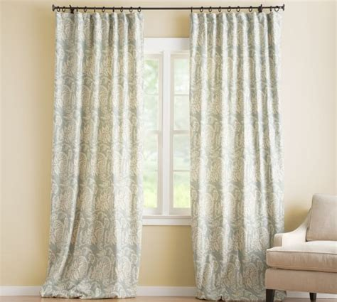 blackout curtains pottery barn alessandra floral drape pottery barn