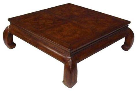 henredon asian style coffee table traditional coffee