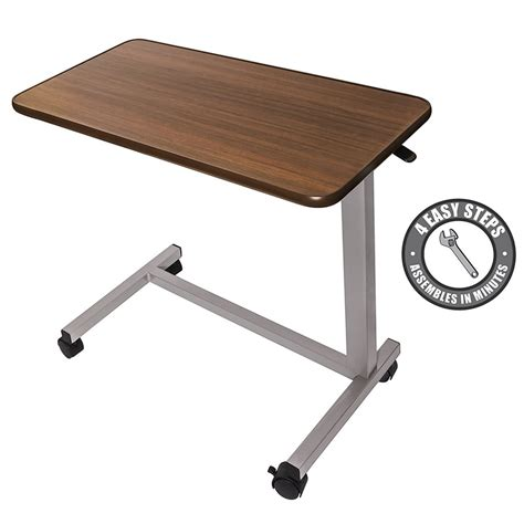 Best Adjustable Overbed Table With Wheels Reviews