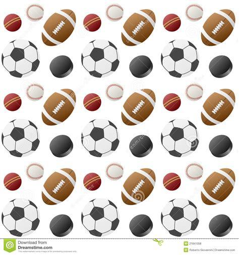 sport pattern background free sport balls seamless pattern 1 stock vector