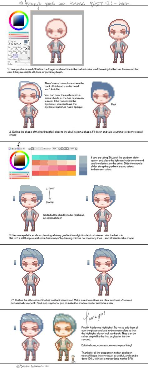 dev c tutorial graphics pixel art tutorial 2 by pricechi on deviantart