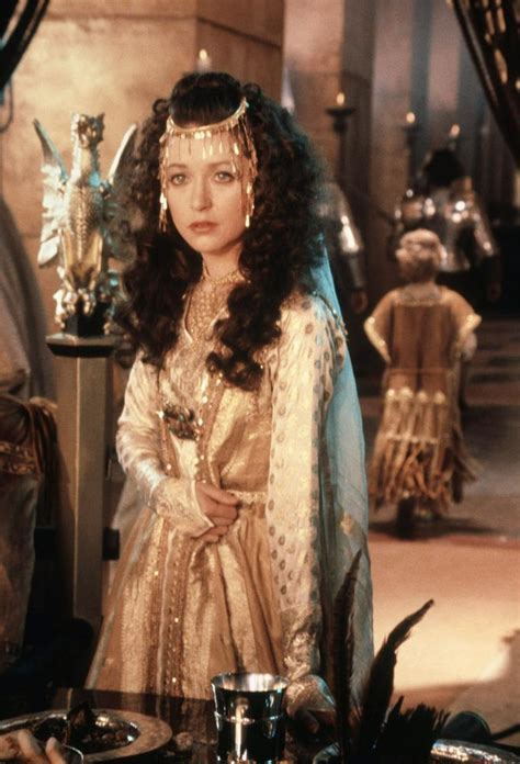 film queen cinema cherie lunghi as guinevere in 1981 s excalibur witches