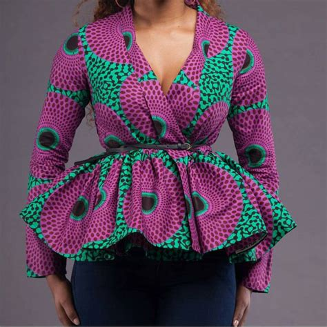 ankara peplum tops styles necessary peplum ankara tops every fashionable lady should