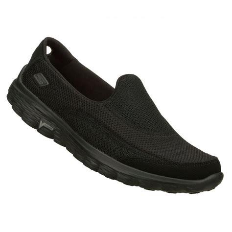 Skechers Go Walk by Skechers Skechers Go Walk 2 Black C6 Z 1 Womens Slip