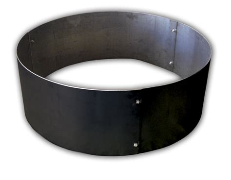 pit steel ring insert aspen industries gas logs pits