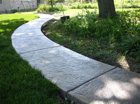 Decorative Concrete Walkways by Decorative Concrete Sidewalks Harmon Concrete