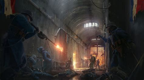 they shall not pass first battlefield 1 expansion they shall not pass gets new images verdun fort faux soissons
