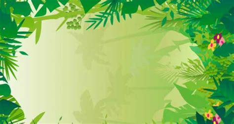 powerpoint templates jungle jungle background clipart vector magz free download