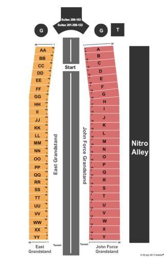 las vegas motor speedway nhra seating chart lowes motor speedway tickets lowes motor speedway in