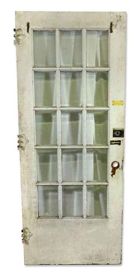 Beveled Glass Doors Interior Fifteen Panel Door With Beveled Glass Olde Things
